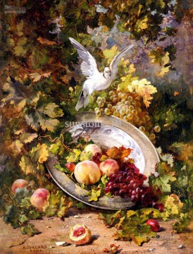 Still life Painting - bird and still lives Classic still life