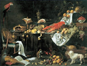 Adriaen van Utrecht still life Oil Paintings