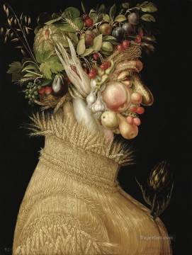 Summer 2 Giuseppe Arcimboldo Classic still life Oil Paintings