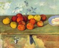 Apples and Biscuits Paul Cezanne Impressionism still life