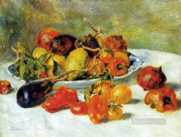 renoir Art - Fruits from the Midi impressionism Pierre Auguste Renoir still lifes