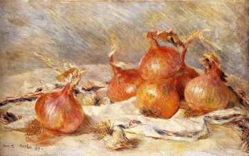 Henry Onions Pierre Auguste Renoir still lifes Oil Paintings