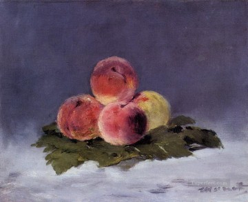 Peaches Eduard Manet Impressionism still life Oil Paintings