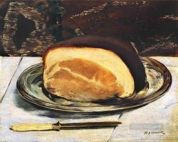 Still life Painting - The ham Eduard Manet Impressionism still life