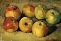 Apples Paul Cezanne Impressionism still life