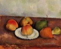 Still Life Plate and Fruit 2 Paul Cezanne