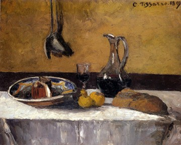 Still Life postimpressionism Camille Pissarro Oil Paintings