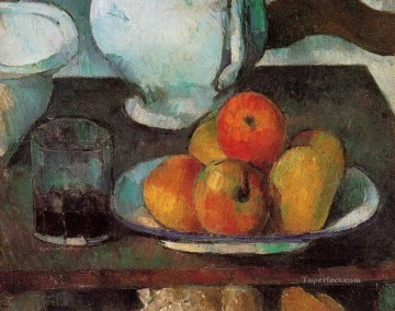 Still life Painting - Still Life with Apples 1879 Paul Cezanne