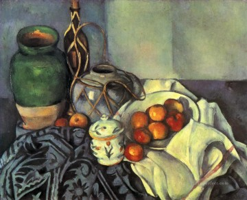 Still life Painting - Still Life with Apples 1894 Paul Cezanne