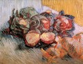 Still Life with Red Cabbages and Onions Vincent van Gogh