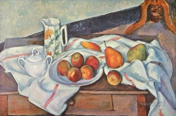 Still life Painting - Still Life with Sugar Paul Cezanne