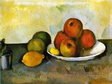 Still life Painting - Still life with Apples Paul Cezanne