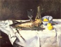The Salmon Impressionism Edouard Manet still lifes