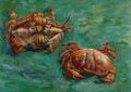 Two Crabs Vincent van Gogh Impressionism still life