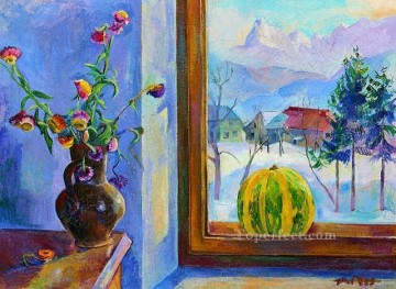 sl063C impressionism still life Oil Paintings