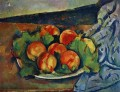 Dish of Peaches Paul Cezanne Impressionism still life