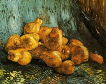 vincent van gogh Painting - Still Life with Pears Vincent van Gogh