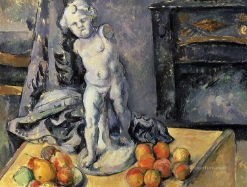Still life Painting - Still Life with Plaster Cupid 2 Paul Cezanne