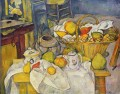 Still life with basket Paul Cezanne