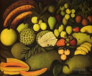 Still life Painting - fruits Henri Rousseau still life decor