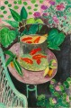 Goldfish abstract fauvism Henri Matisse modern decor still life