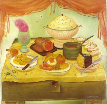 Still Life 2 Fernando Botero Oil Paintings