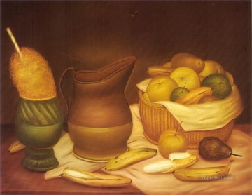 Still Life Fernando Botero Decor Art
