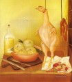 Kitchen Table 3 Fernando Botero still life decor