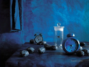 Still Life in blue Oil Paintings