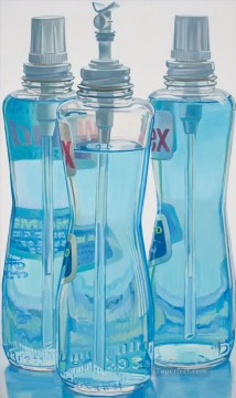 windex bottles JF realism still life Oil Paintings
