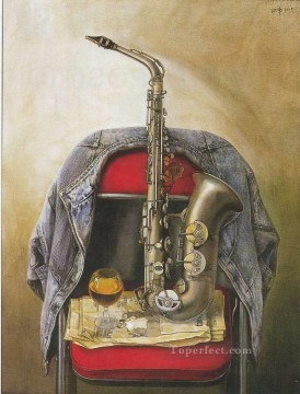 jw035bB realistic still life Oil Paintings