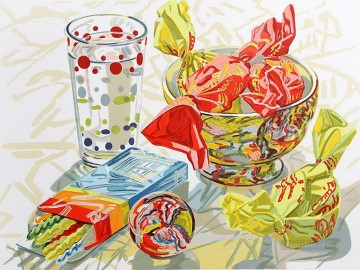 still life lifes Painting - Candy JF realism still life
