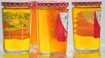 Smuckers Jelly JF realism still life Oil Paintings