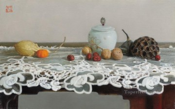 still life 5 realism Oil Paintings