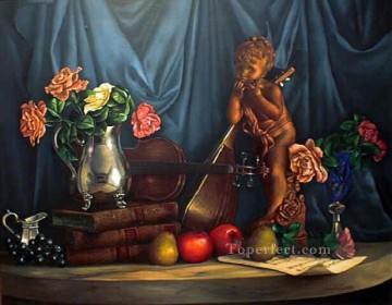 sl065D realism still life Oil Paintings