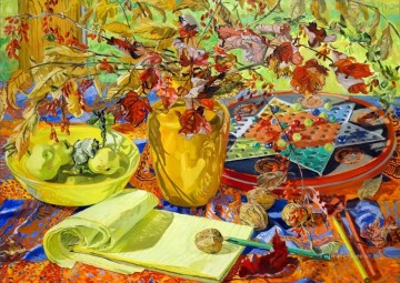 Yellow Pad JF realism still life Oil Paintings