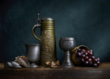 Still life Painting - still life with green stein