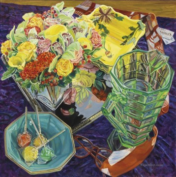 JF Works - Flowers for Charles JF realism still life