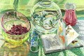les petits poissons JF realism still life