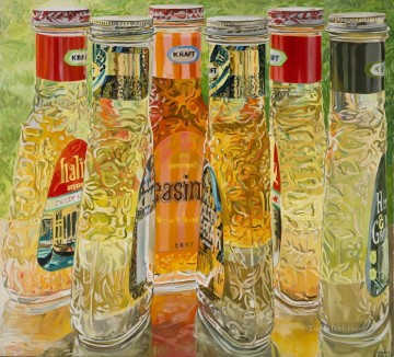 still life lifes Painting - Kraft Salad Dressing JF realism still life