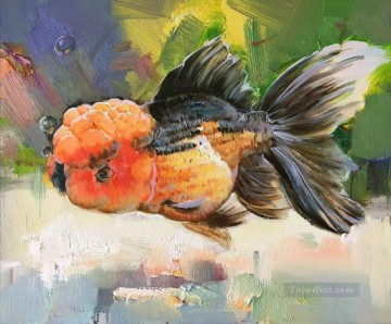 goldfish Painting - Goldfish 0 391 textured
