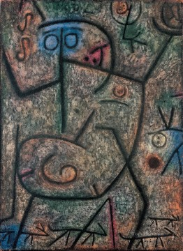The rumors Paul Klee textured Oil Paintings