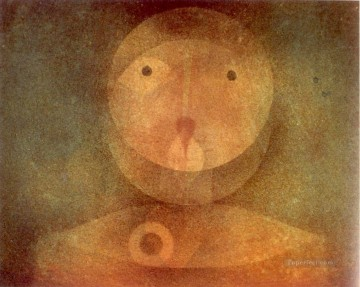 Pierrot Lunaire Paul Klee textured Oil Paintings