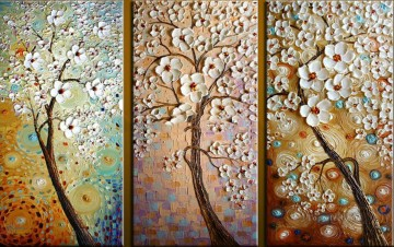 panels Painting - blossom panels 3D Texture