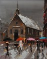 Umbrellas of Quebec KG textured