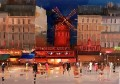 Moulin Rouge at night KG textured