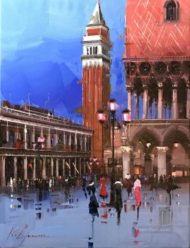 Artworks in 150 Subjects Painting - Venice 2 KG textured