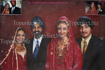 Examples of Portrait Painting - imd020 Arabian portrait