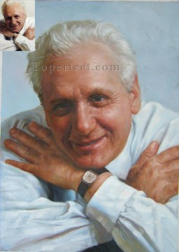 Examples of Portrait Painting - imd029 gentleman portrait