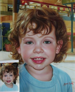 Examples of Portrait Painting - imd041 honey portrait